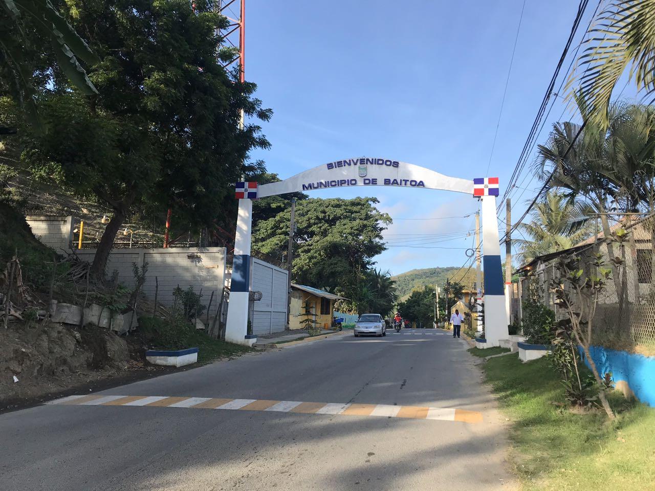 Ayuntamiento Municipal de Baitoa inaugura la entrada de su municipio